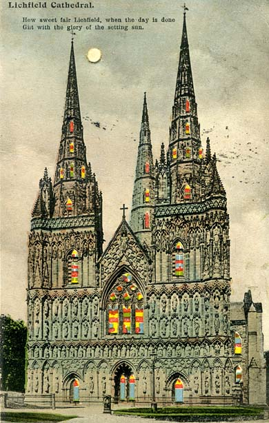 West Front, Lichfield Cathedral