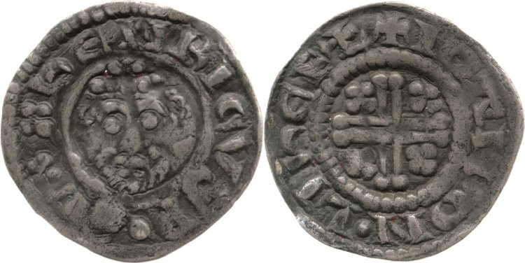 Lichfield short cross coin