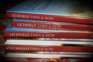 Stack of Lichfield Then & Now copies