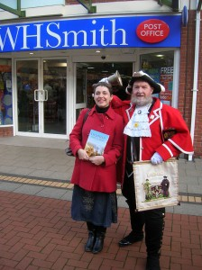 Me with Lichfield Town Crier Ken Knowles