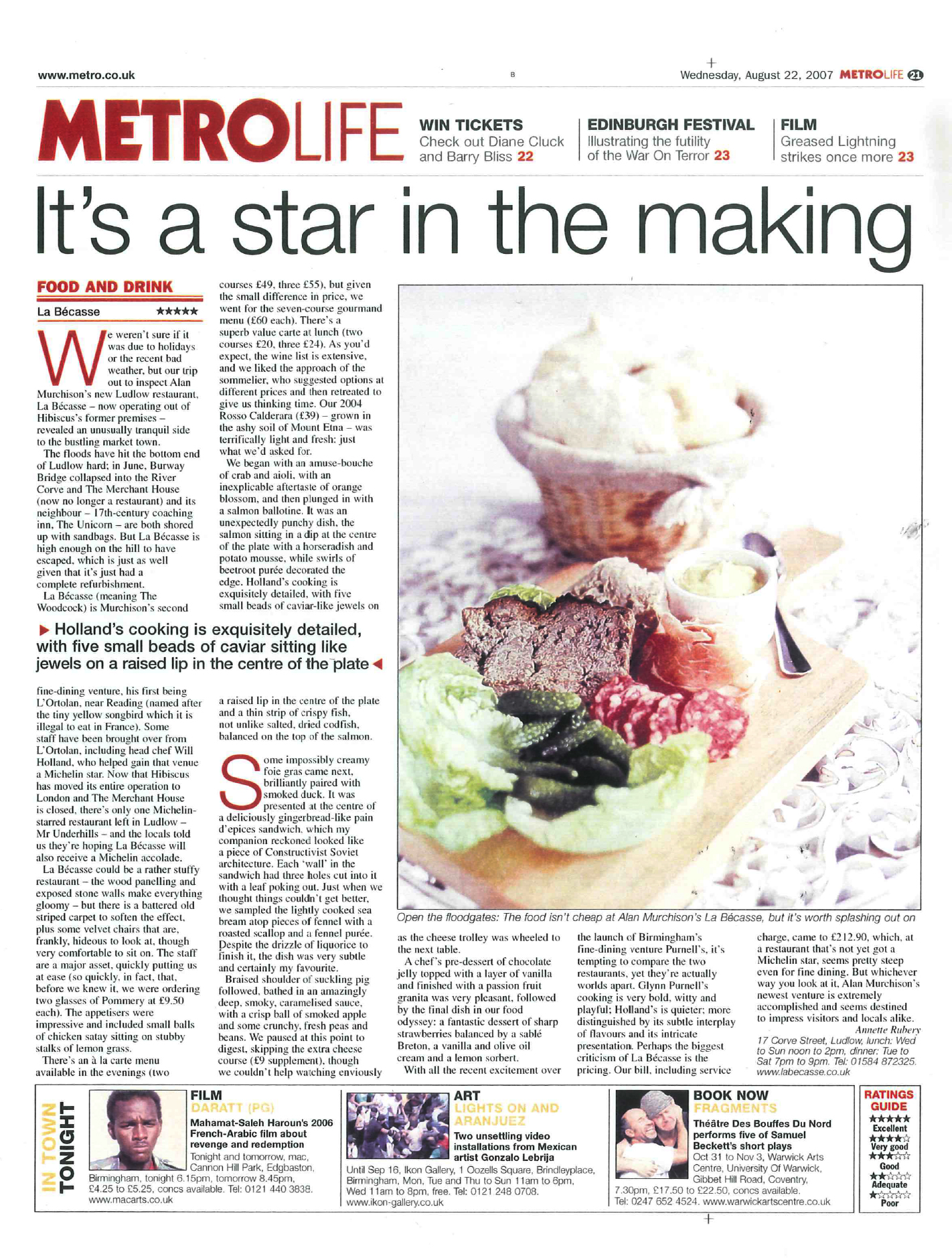 Metro Life food feature